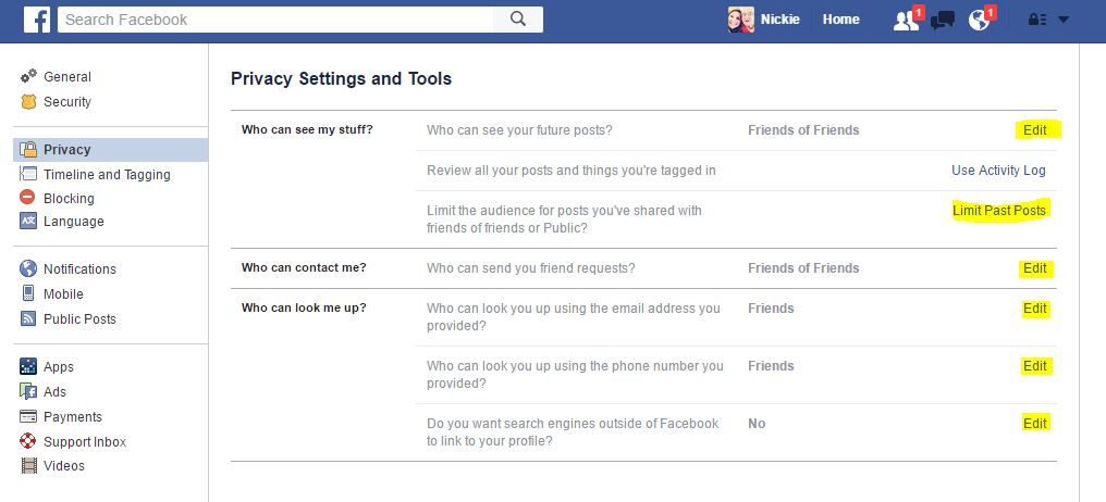 privacy-settings